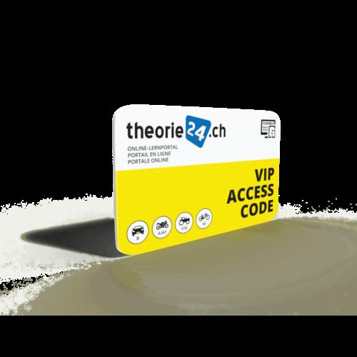 theorie24 Online Zugangs-Codekarte