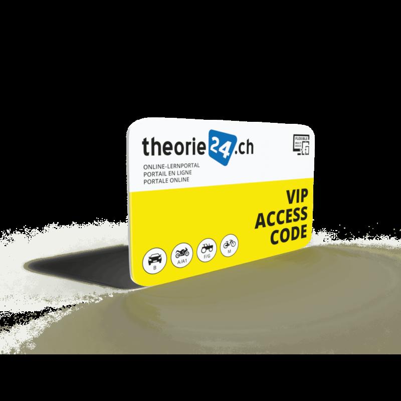 theorie24 Online Zugangs-Codekarte - theorie24 carta con codice di accesso online